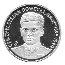 Moneda 200.000 Zlotys Polonia Stefan Rowecki Año 1990 | Numismática Online - Alotcoins