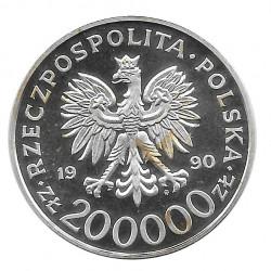 Münze 200.000 Złote Polen Stefan Rowecki Jahr 1990 | Numismatik Online - Alotcoins