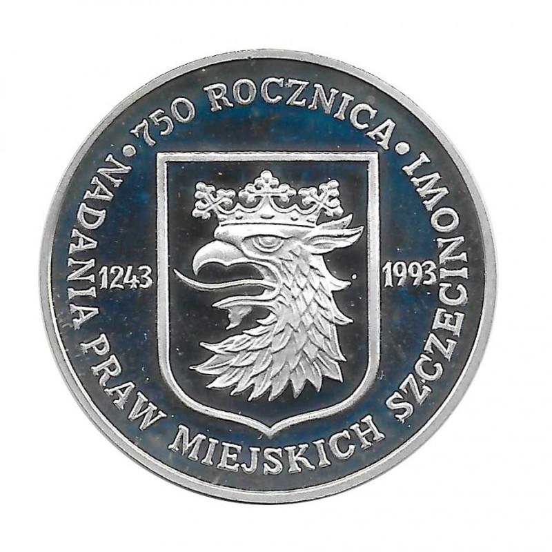 Coin 200,000 Złotych Poland 750 Years Szczecin Year 1993 | Numismatics Online - Alotcoins