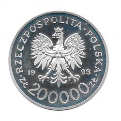 Münze 200.000 Złote Polen 750 Jahre Stettin Jahr 1993 | Numismatik Online - Alotcoins