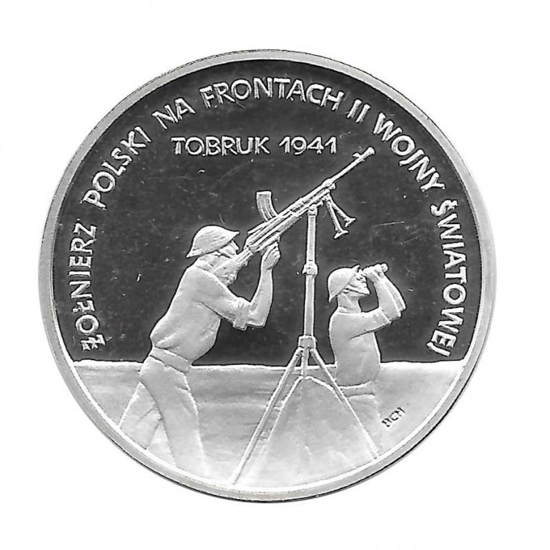 Moneda 100.000 Zlotys Polonia Batalla por Tobruk Año 1991 | Numismática Online - Alotcoins