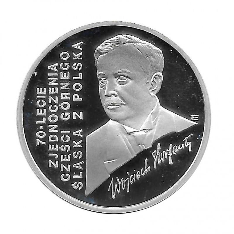 Münze 100.000 Złote Polen Wojciech Korfanty Jahr 1992 | Numismatik Online - Alotcoins