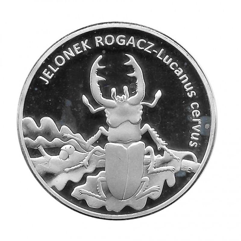 Coin 20 Złotych Poland Stag Beetle Year 1996 | Numismatics Online - Alotcoins