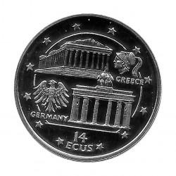 Münze 14 ECU Gibraltar Griechenland-Deutschland Jahr 1994 | Numismatik Online - Alotcoins