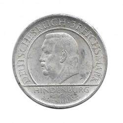 Moneda 3 Reichsmarks Alemanes 10º Aniversario Weimar J Año 1929 2 | Numismática Online - Alotcoins