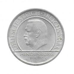 Moneda 3 Reichsmarks Alemanes 10º Aniversario Weimar D Año 1929 2 | Numismática Online - Alotcoins