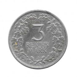 Moneda 3 Reichsmarks Alemanes Milenio Renania A Año 1925 2 | Numismática Online - Alotcoins