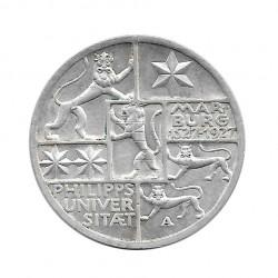 Moneda 3 Reichsmarks Alemanes Universidad Marburgo A Año 1927 | Numismática Online - Alotcoins