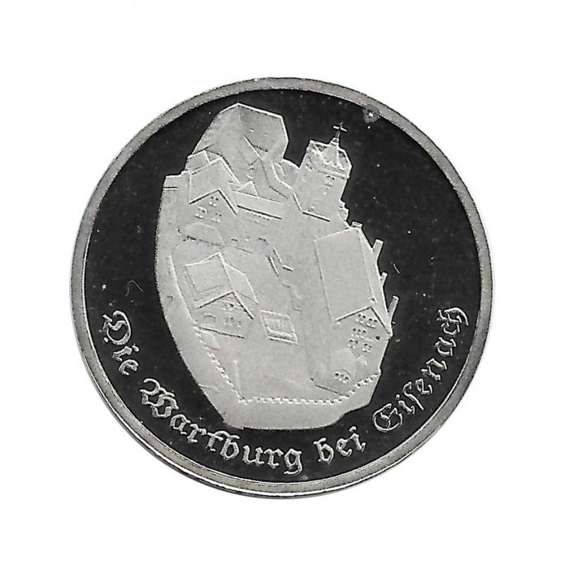 Moneda 5 Marcos Alemanes DDR Castillo Wartburg Año 1982 | Numismática Española - Alotcoins