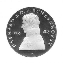 Moneda 10 Marcos Alemanes DDR Scharnhorst Año 1980 | Numismática Online - Alotcoins