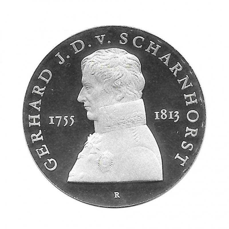 Coin 10 German Marks GDR Scharnhorst Year 1980 | Numismatics Online - Alotcoins