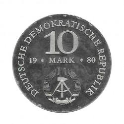 Coin 10 German Marks GDR Scharnhorst Year 1980 2 | Numismatics Online - Alotcoins