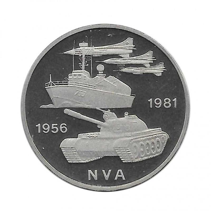 Münze 10 Deutsche Mark DDR NVA Jahr 1981   Numismatik Online - Alotcoins