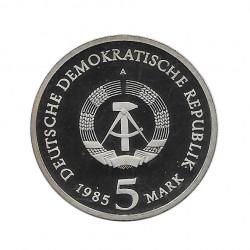 Münze 5 Deutsche Mark DDR Dresden Zwinger Jahr 1985 2 | Numismatik Online - Alotcoins