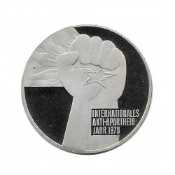 Münze 5 Deutsche Mark DDR Anti-Apartheid Jahr 1978 | Numismatik Online - Alotcoins