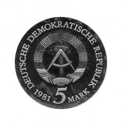 Moneda 5 Marcos Alemanes DDR Tilman Riemenschneider Año 1981 2 | Numismática Online - Alotcoins