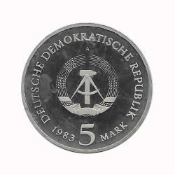 Münze 5 Deutsche Mark DDR Martin Luther Jahr 1983 A 2 | Numismatik Online - Alotcoins
