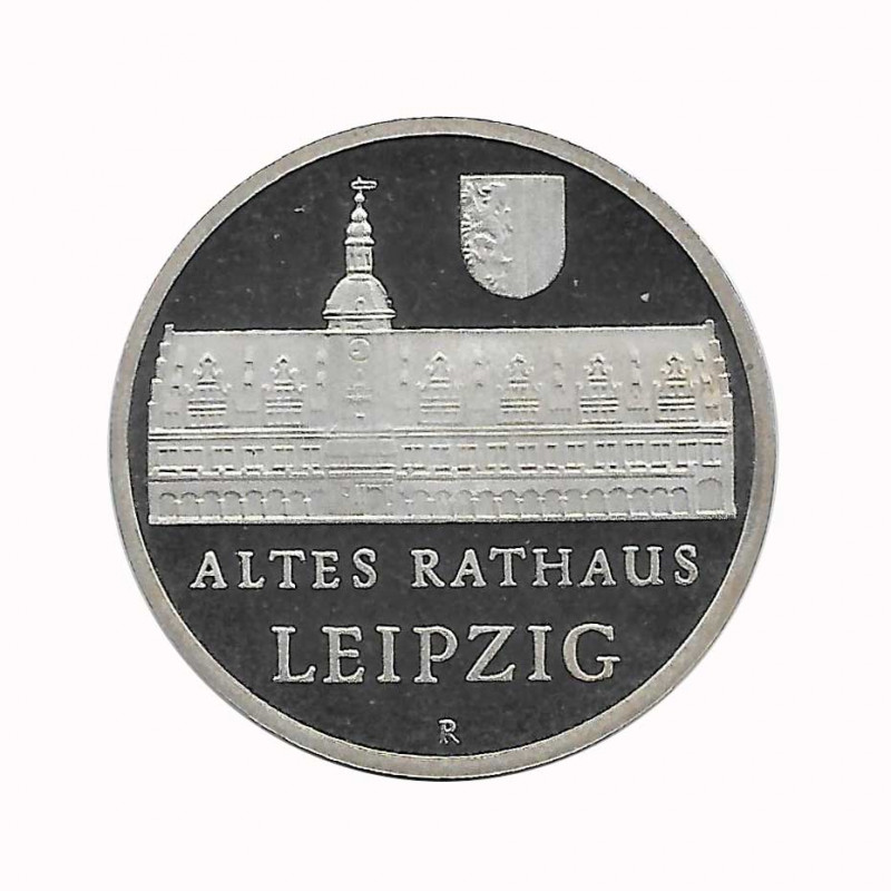 Coin 5 German Marks GDR Leipzig City Hall Year 1984 A   Numismatics Online - Alotcoins