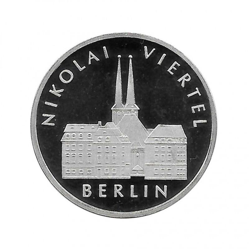 Moneda 5 Marcos Alemanes DDR Nikolaiviertel Berlín Año 1987 A | Numismática Online - Alotcoins