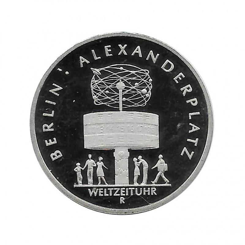 Moneda 5 Marcos Alemanes DDR Alexanderplatz Berlín Año 1987 A | Numismática Online - Alotcoins