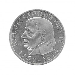 Moneda 5 Marcos Alemanes DDR Gottlieb Fichte 1964 J | Numismática Online - Alotcoins