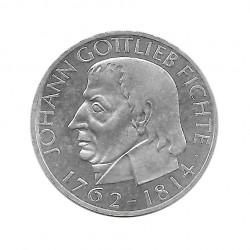 Münze 5 Deutsche Mark DDR Gottlieb Fichte Jahr 1964 J | Numismatik Online - Alotcoins