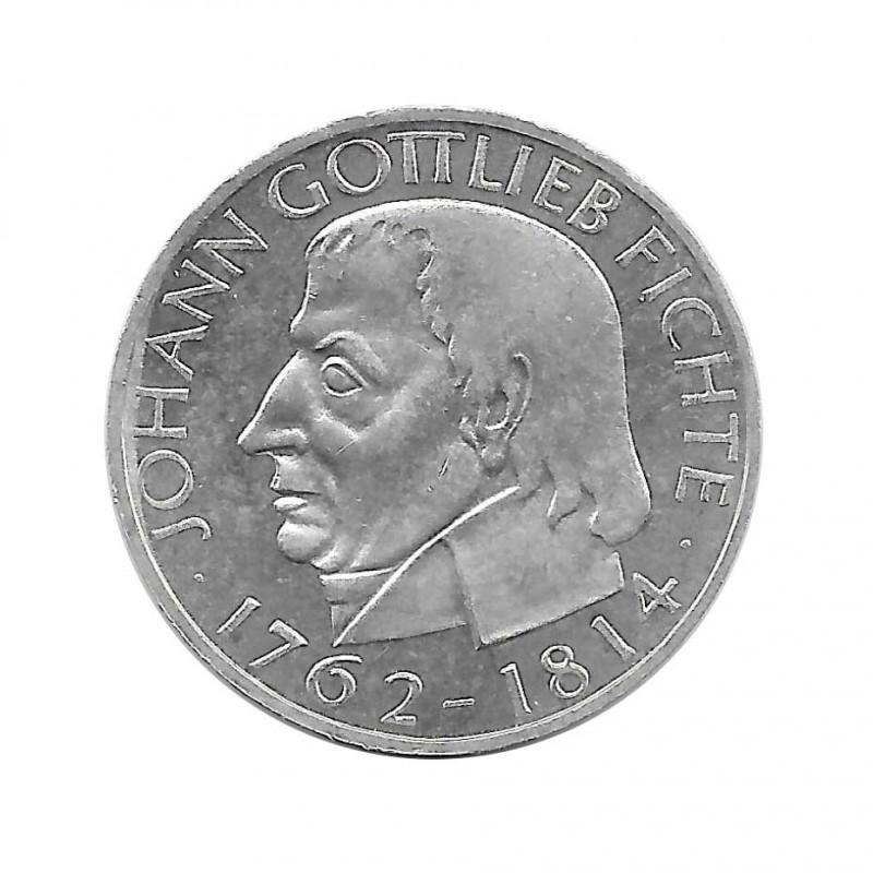 Coin 5 German Marks GDR Gottlieb Fichte Year 1964 J 2 | Numismatics Online - Alotcoins