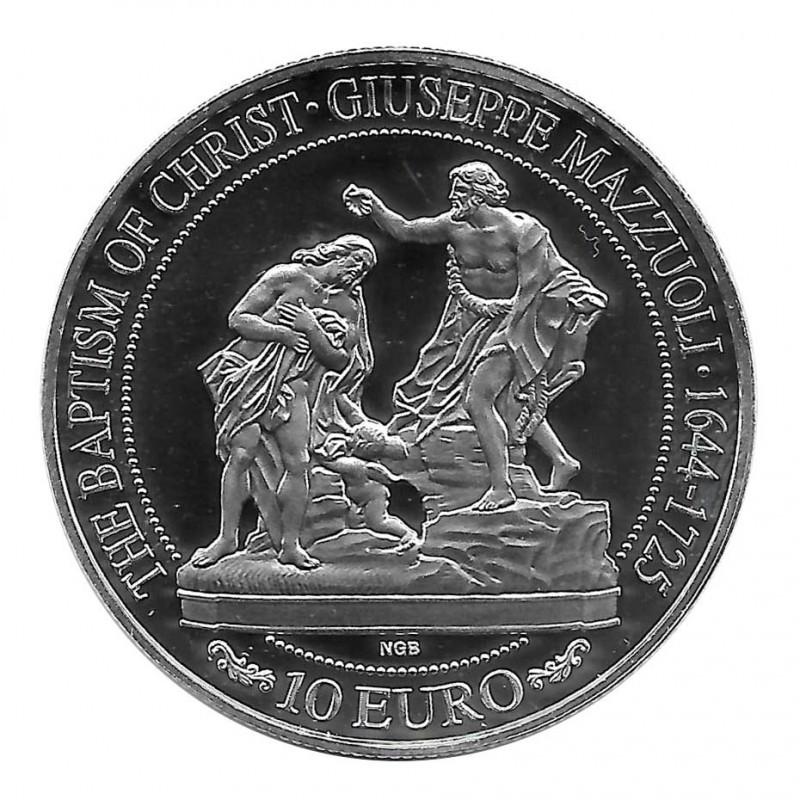 Moneda Malta 10 Euros Giuseppe Mazzuoli Año 2018 | Numismática Online - Alotcoins