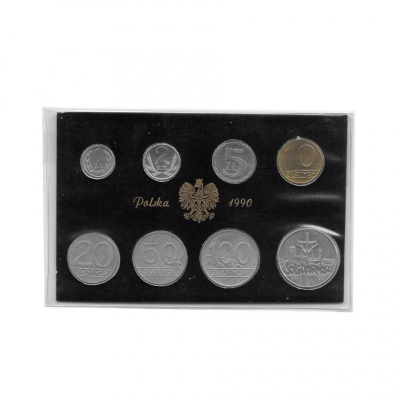 Gedenk Zloty Münzen Set Polen Jahr 1990 | Numismatik Online - Alotcoins