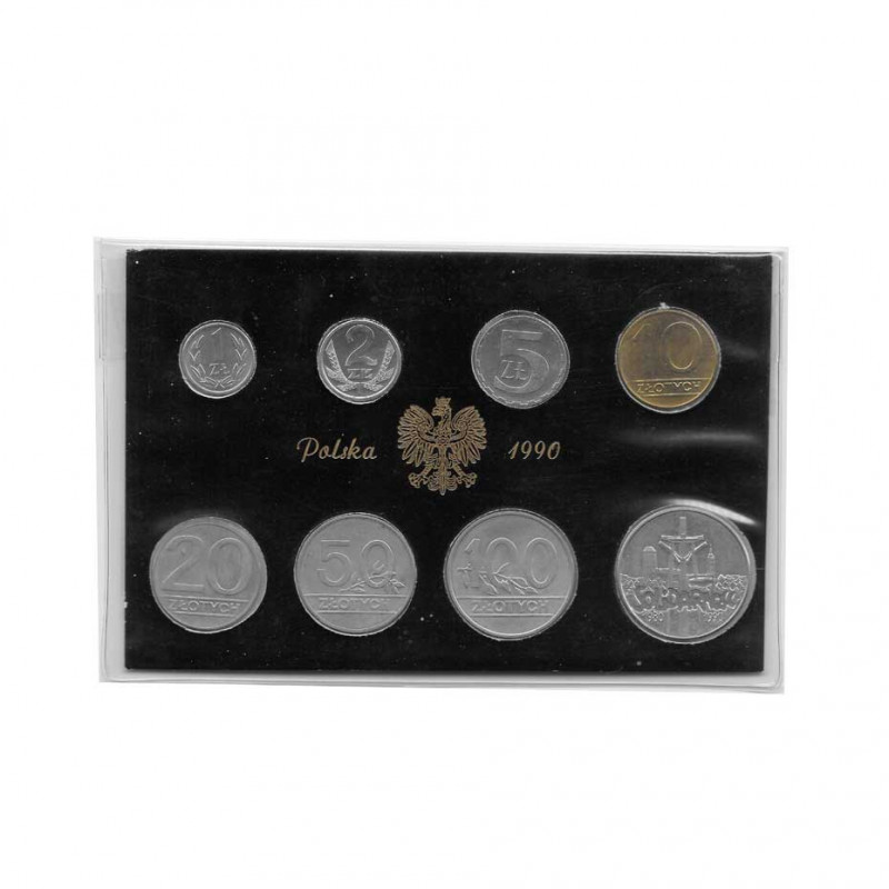 Set Monedas Eslotis Polonia Año 1990 | Numismática Online - Alotcoins