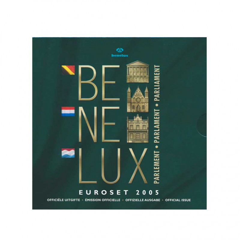 BENELUX Euroset Coins Euro Luxemburg Year 2005 Official Edition | Numismatics Online - Alotcoins
