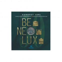 BENELUX Euroset Monedas Euro Luxemburgo Año 2005 Edición Oficial 2 | Numismática Online - Alotcoins