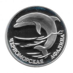 Münze 1 Rubel Russland Delphin Aphalina Jahr 1995 | Numismatik Online - Alotcoins