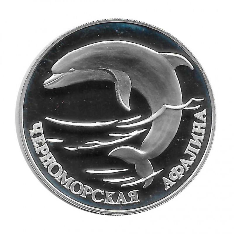 Moneda 1 Rublo Rusia Delfín Aphalina Año 1995 | Numismática Online - Alotcoins