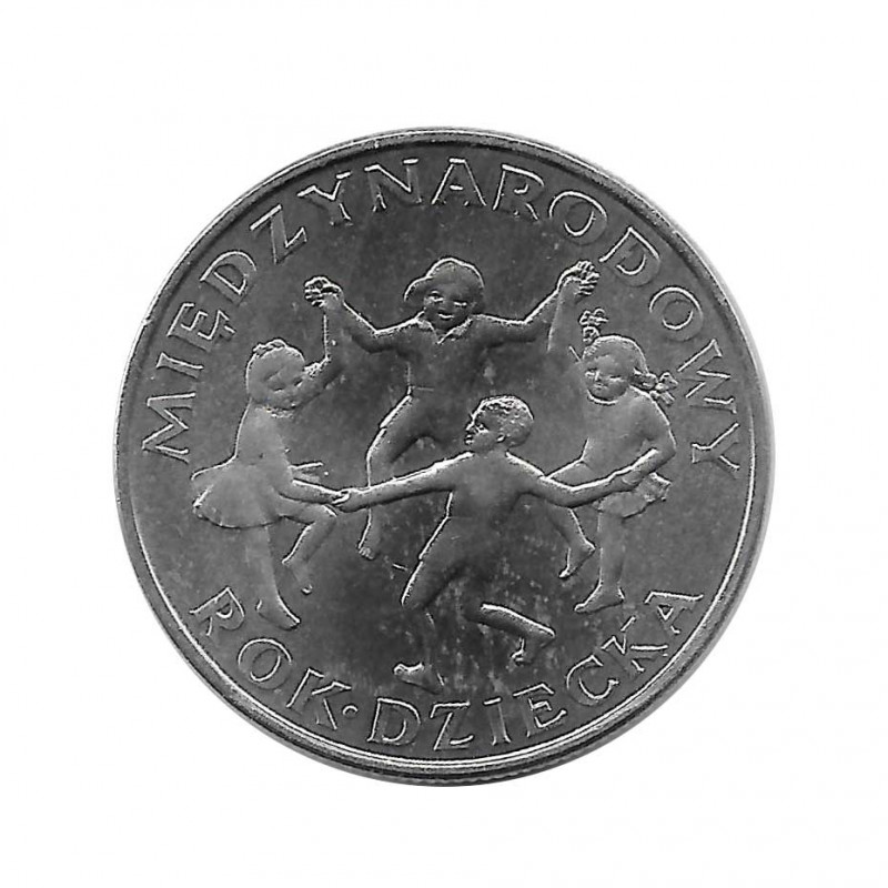 Coin 20 Złotych Poland International Year Child Year 1979 | Numismatics Online - Alotcoins