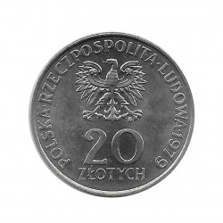 Coin 20 Złotych Poland International Year Child Year 1979 2 | Numismatics Online - Alotcoins