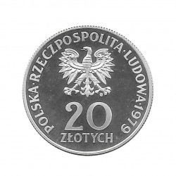 Moneda 20 Zlotys Polonia Año internacional Niño PROBA Año 1979 2 | Numismática Online - Alotcoins