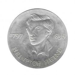 Moneda 10 Marcos Alemanes DDR Heinrich Heine Año 1972 | Numismática Online - Alotcoins