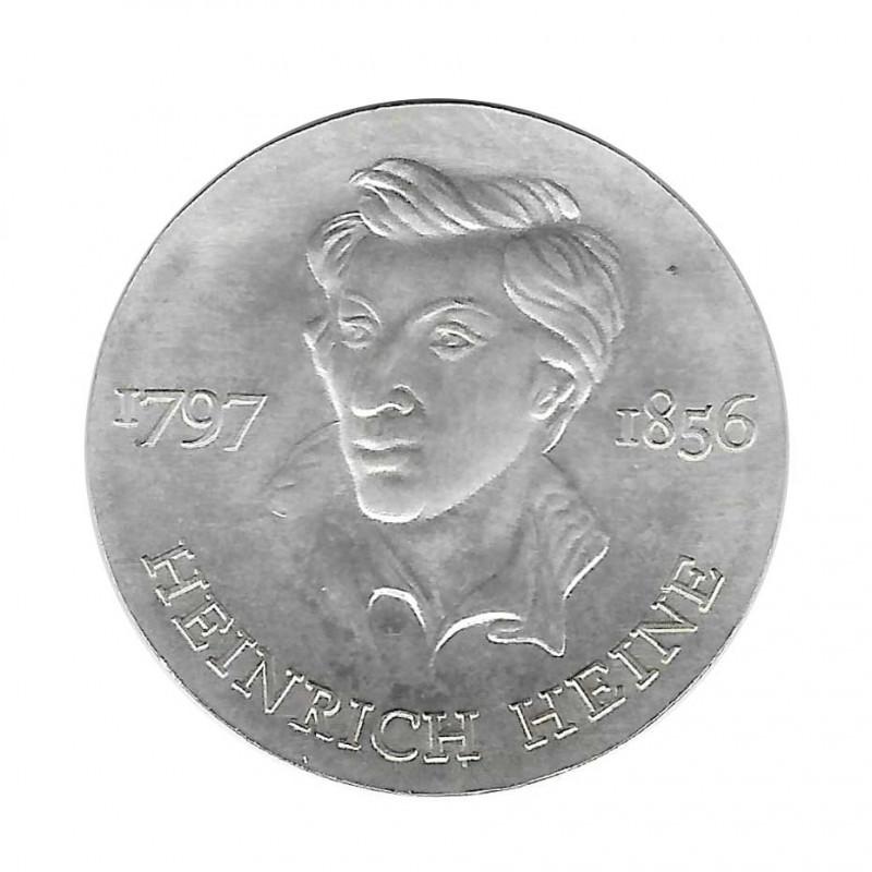 Münze 10 Deutsche Mark DDR Heinrich Heine Jahr 1972 | Numismatik Online - Alotcoins
