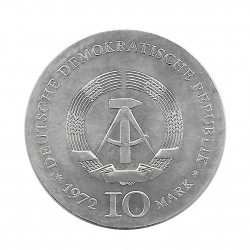 Münze 10 Deutsche Mark DDR Heinrich Heine Jahr 1972 2 | Numismatik Online - Alotcoins
