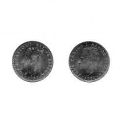 2 Coins 25 Pesetas Spain King Juan Carlos I Years 1982 and 1983 | Numismatics Online - Alotcoins