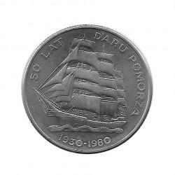 Moneda 20 Zlotys Polonia Daru Pomorza Año 1980 | Numismática Online - Alotcoins