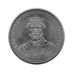 Münze 50 Zlotys Polen Kazimierz I Odnowiciel Jahr 1980 | Numismatik Online - Alotcoins