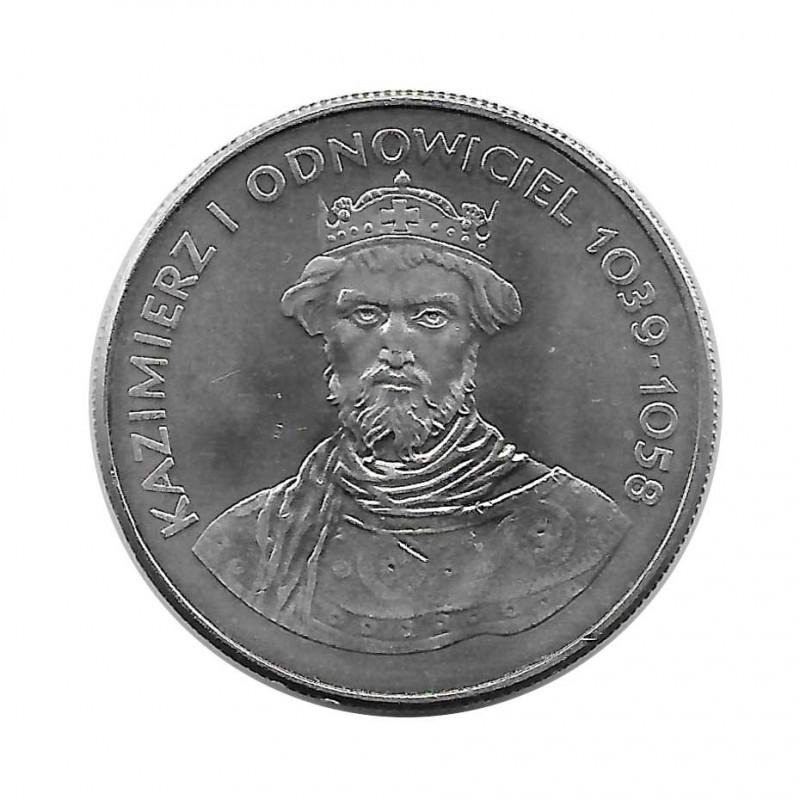 Moneda 50 Zlotys Polonia Kazimierz I Odnowiciel Año 1980 | Numismática Española - Alotcoins