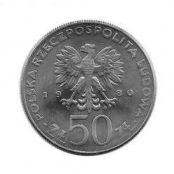 Münze 50 Zlotys Polen Kazimierz I Odnowiciel Jahr 1980 2 | Numismatik Online - Alotcoins