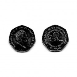 Münze 50 Pfennige Gibraltar Neues Calpe Haus Jahr 2018 3 | Numismatik Online - Alotcoins