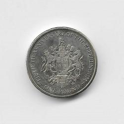 Moneda 1 Libra Gibraltar Referéndum Año 2017 | Numismática Española - Alotcoins