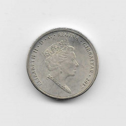Münze 1 Pfund Gibraltar Referendums Jahr 2017 2 | Numismatik Online - Alotcoins