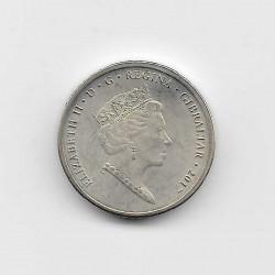 Moneda 1 Libra Gibraltar Referéndum Año 2017 2 | Numismática Española - Alotcoins
