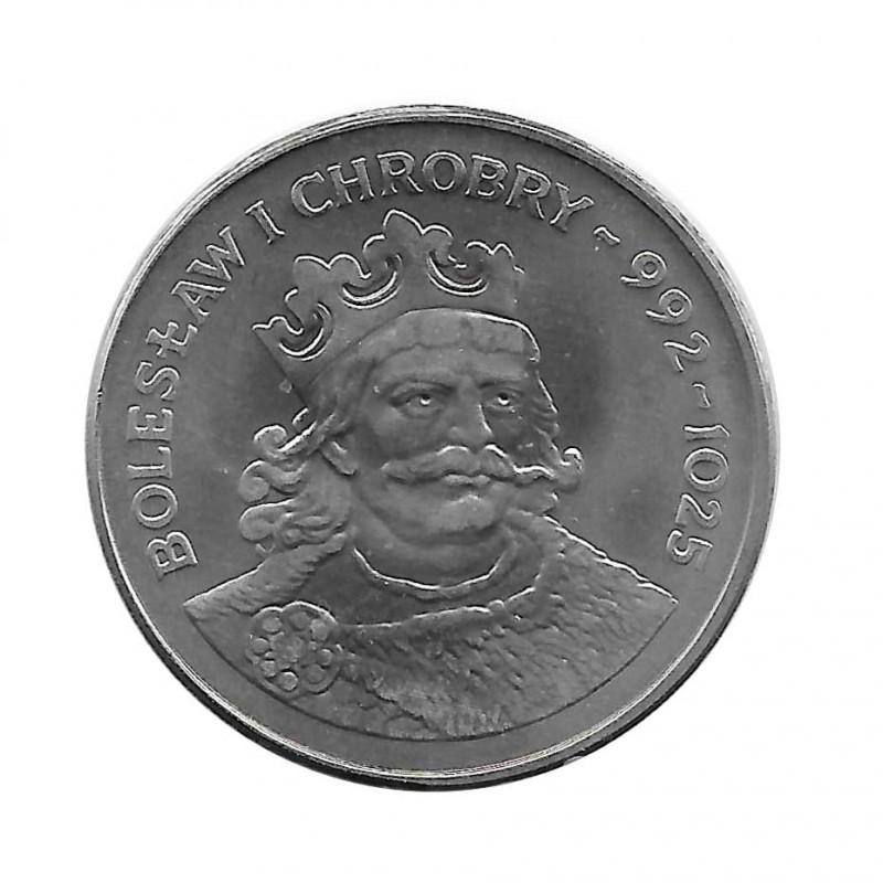 Moneda 50 Zlotys Polonia Bolesław I Chrobry Año 1980 | Numismática Española - Alotcoins